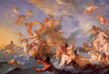 - pinturas mitológicas