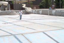 Swimming pools repair