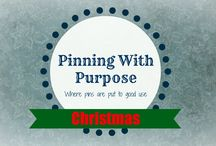 Christmas (PWP) / Have a Merry Christmas with these fun ideas from Pinning with Purpose.
