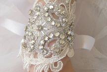 свадебные митенки и браслеты