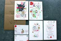 Appunti... Invitanti / Wedding invitations