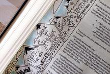 Bible Journaling / Art journal, scripture journal, Bible journaling.
