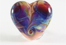 Lampwork Hearts / by Heather Behrendt