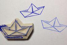 stempelki (stamps)