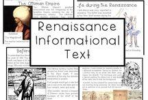 Renaissance Unit and Lap Book