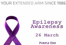26 March Epilepsy Awareness / Epilepsy is both neurological and physical condition. Epilepsy is described as the tendency to have repeated seizures that start in the brain. Epilepsy is usually only diagnosed after the person has had more than one seizure. On 26 March people in countries around the world are invited to wear purple and host events in support of epilepsy awareness.  http://marmassistance.com/