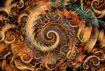 """Spirals and their awesomeness! / """"A spiral is a curve in the plane or in the space, which runs around a center in a special way."""""""
