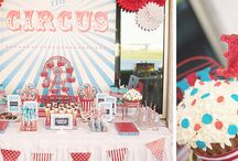 WOW Creation ♥ Carnival / Carnival Themed First Birthday Party.