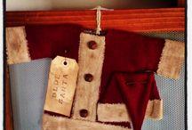 Christmas time at the Wheatley's  / Sweet little Santa coat