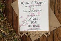 Save the Date - Wedding / Cards, Magnets and Save the date pencils.  Or feel free to contact me for something a little different.  Bespoke commissions always welcome.