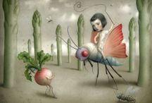 Illustration, Cartoons & Animation