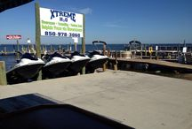 Our Location in Tropical Destin, Florida / Check out our beautiful docks located on the Bay seconds from Crab Island. For more info check out http://www.xtremeh2o.net
