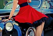 Pinups with hot rods