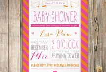 Baby Shower -- Girl