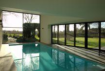 Prive binnenzwembad / private poolhouse