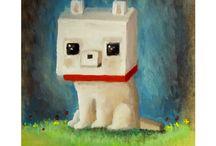 Minecraft cuki zvieratká