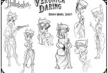 Character Design Boards