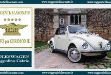 Ruggenti e Blasonate Auto per Cerimonie / Noleggio auto di lusso per cerimonie, matrimonio, cinema, pubblicità
