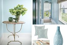 Color of the Year 2014 | Breath of Fresh Air / Breath of Fresh Air was the color chosen by Benjamin Moore  as the color of the year for 2014 #coloroftheyear #coty #breathoffreshair / by Kate | Sensational Color