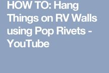 Merrely Hanging things with pop rivets