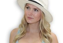 Fedora Hats / Stylish, comfortable, and functional fedora hats for men and women. UPF 50 sun protection.