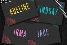 LuLaRoe Names/Styles Cards