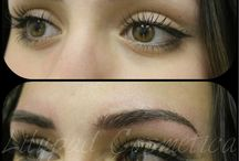eyebrow tattoos