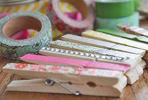 Washi tape / knijpers