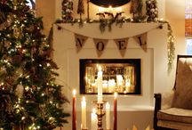 Somine/ fireplace decor