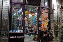 Shopping in Nafplio / Whether it is traditional Greek delicacies, worry beads, handcrafted gifts or souvenirs, these shops in the old town of Nafplio are definitely worth a visit, or a photo at least...