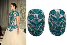 Marchesa's new nail art for Revlon - fall 2013 / http://butterfliestars.wordpress.com/