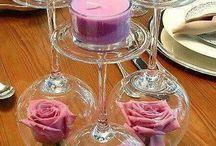 ozdoby stół