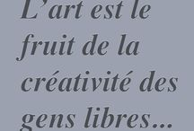 citation artiste / Annie Lecoutre