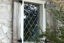 Okiennice zew. / outside shutters