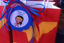 Sarah's super hero birthday party / Birthday party ideas