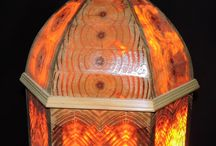 Pine beauty in Arabian Lamps / Contemporary designer shows how beautiful the ethnic Arabian lamps appear with novel concept of using annual growth rings of pinewood. These lamps are traditionally made from the metal sheet with variety of perforations.  These were exhibited in INDEX Dubai Exhibition in May 2015.