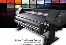 High Format Eco-Solvent Printers