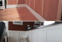 habillage bois des murs intérieurs