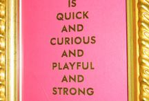 kate spade quotes / by Caroline