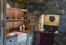 cocina cabaña