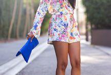 Floral:Jumpsuit