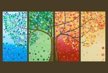 stromy, listy
