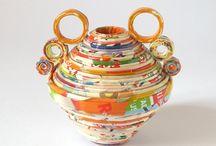 Paper Vases / Home décor