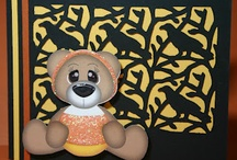 Beary Scary - Paper Piecings by Nikki / by Linda Therrien
