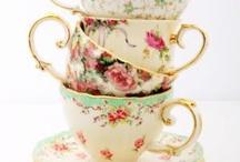 tableware coffee or tea / by Betty Dort