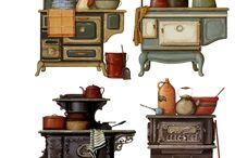 винтажная кухонька