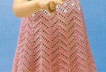 vestidos con moldes crochet