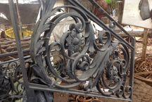 Pagar dan pintu gerbang / Spesialis besi tempa