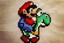 Bügelperlen Mario