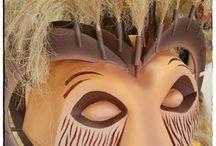 Lion King masks / Lion King musical masks